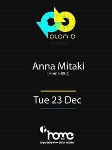Anna Mitaki @ Plan B