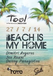 Beach is my home