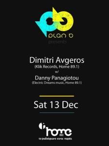 Dimitri Avgeros & Danny Panagiotou @ Plan B