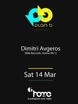 Dimitri Avgeros @ Plan B