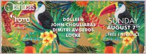 Dolleen, John Chouliaras, Dimitri Avgeros & Locke @ Cariocas