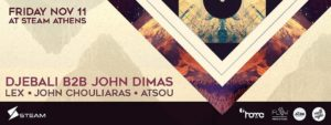 Djebali & John Dimas @ Steam
